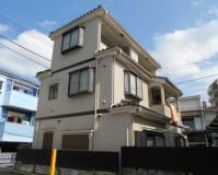 外壁塗装と屋根塗装を東京都足立区千住東にて15【施工前】