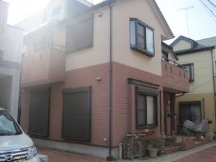東京都中央区八丁堀の外壁塗装・屋根塗装の施工前
