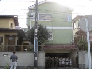 千代田区の外壁塗装・屋根塗装の施工前