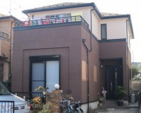 外壁塗装:ウレタン系塗料 屋根塗装:なし 施工地域:東京都杉並区