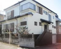 外壁塗装:ウレタン系塗料 屋根塗装:なし 施工地域:東京都調布市