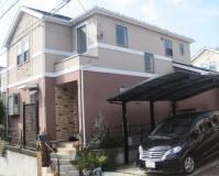 外壁塗装:セラミシリコン塗料 屋根塗装:なし 施工地域:東京都北区