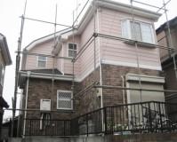 外壁塗装:セラミシリコン塗料 屋根塗装:なし 施工地域:東京都三鷹市