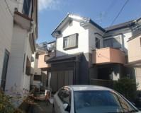 外壁塗装:セラミシリコン塗料 屋根塗装:なし 施工地域:東京都小金井市