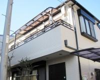 外壁塗装:セラミシリコン塗料 屋根塗装:なし 施工地域:東京都昭島市