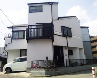 外壁塗装:セラミシリコン塗料 屋根塗装:なし 施工地域:東京都東久留米市
