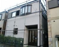 外壁塗装:セラミシリコン塗料 屋根塗装:なし 施工地域:東京都清瀬市