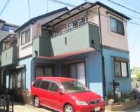 外壁塗装:セラミシリコン塗料 屋根塗装:なし 施工地域:東京都武蔵村山市