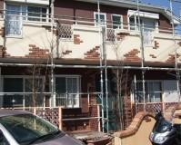 外壁塗装:セラミシリコン塗料 屋根塗装:なし 施工地域:東京都福生市