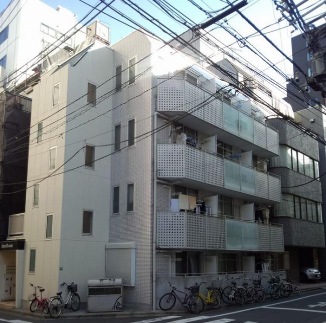 外壁塗装と屋根塗装を東京都豊島区南大塚のマンションにて【施工例61】