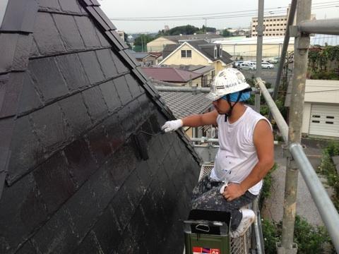 外壁塗装と屋根塗装を埼玉県狭山市入曽にての施工後