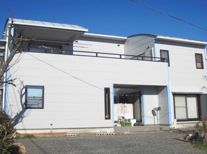 埼玉県志木市の外壁塗装施工事例の施工後