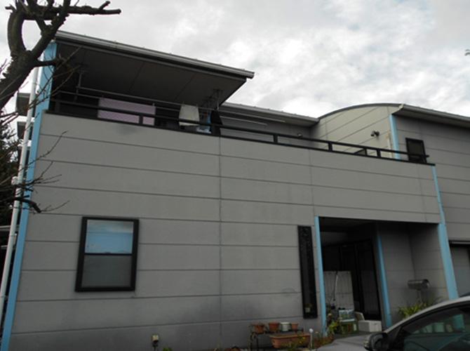 埼玉県志木市の外壁塗装施工事例の施工前