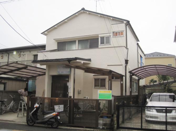 東京都江戸川区の住宅外壁塗装施工事例の施工後