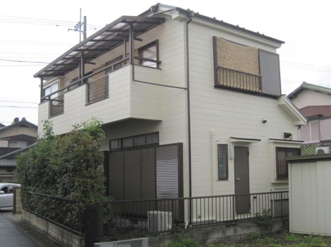 埼玉県三郷市の外壁塗装と屋根塗装の施工事例の施工後