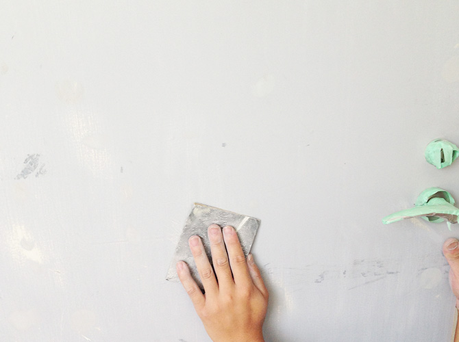 東京都のマンション内装塗装施工事例の施工前