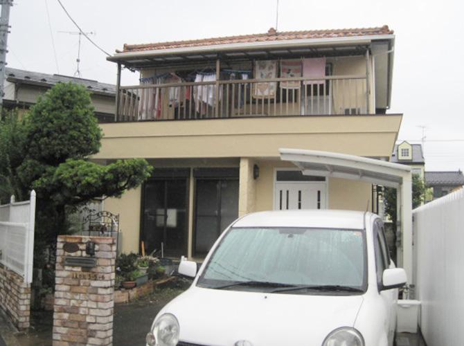 東京都足立区伊興のナノコンポジットWの外壁塗装施工事例