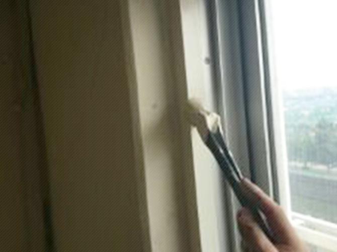 千葉県市川市のマンション内装塗装の施工事例の施工前