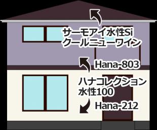 東京都羽村市の外壁塗装・屋根塗装の施工事例
