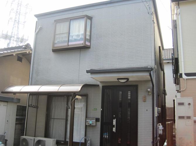 東京都足立区の外壁塗装・屋根塗装の施工事例(20140055)の施工前