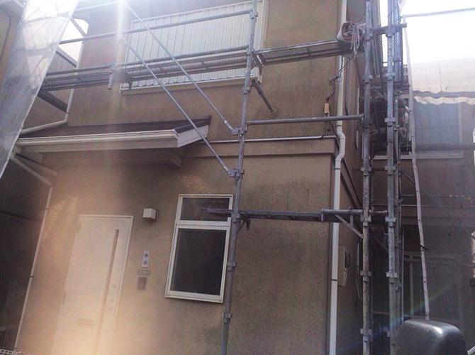 東京都足立区佐野の外壁塗装の施工事例の施工前