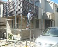 東京都杉並区の木部塗装工事
