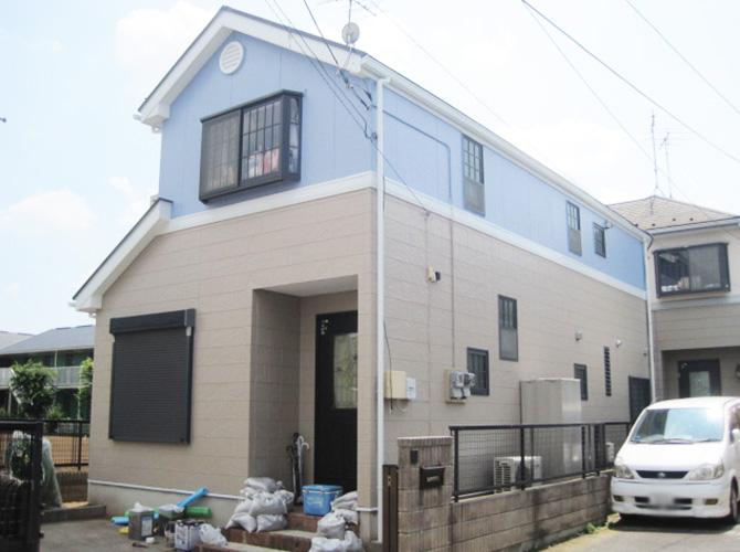 千葉県柏市の外壁塗装・屋根塗装の施工事例の施工後