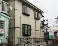 足立区栗原の外壁塗装・屋根塗装