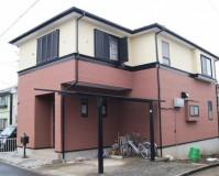 外壁塗装:セラミシリコン 屋根塗装:なし 施工地域:東京都多摩市