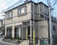 外壁塗装:セラミシリコン 屋根塗装:なし 施工地域:東京都狛江市