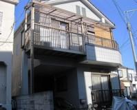 外壁塗装:ウレタン系塗料 屋根塗装:なし 施工地域:東京都武蔵野市
