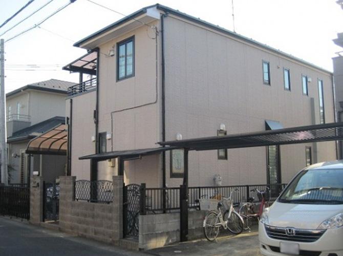 東京都練馬区で外壁塗装にシリコン塗料を使用した施工事例の施工後