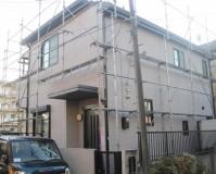 外壁塗装:アクリル系塗料 屋根塗装:なし 施工地域:東京都八王子市