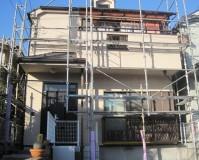 外壁塗装:セラミシリコン塗料 屋根塗装:なし 施工地域:東京都府中市