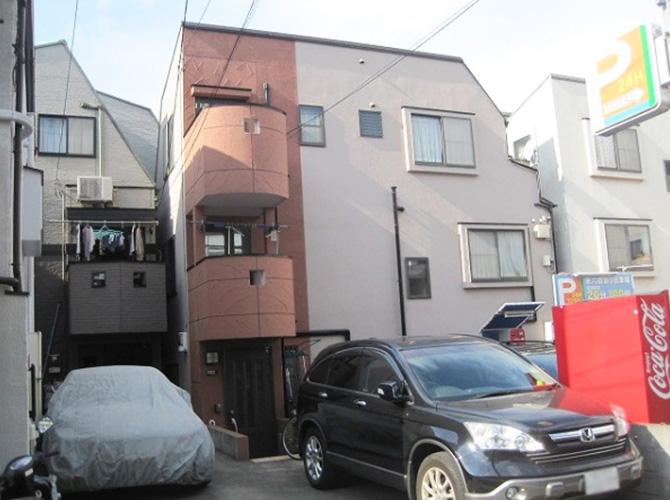 東京都青梅市で外壁塗装にシリコン塗料を使用した事例の施工後