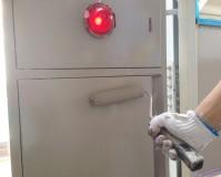 屋内消火栓BOXの塗装工事の施工事例