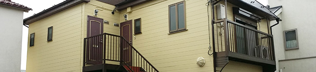 外壁塗装で使われる塗料の塗膜の付着について