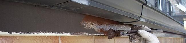 外壁塗装の付帯部として破風と鼻隠しとは?
