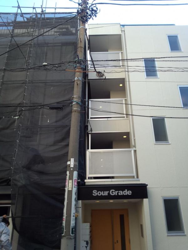 東京都豊島区のマンション外壁塗装の施工事例の施工前