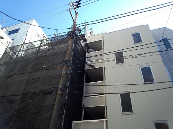 東京都豊島区のマンション外壁塗装の施工事例の施工後