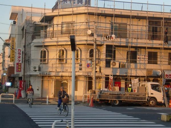 東京都足立区のテナントビル外壁塗装の施工事例の施工後