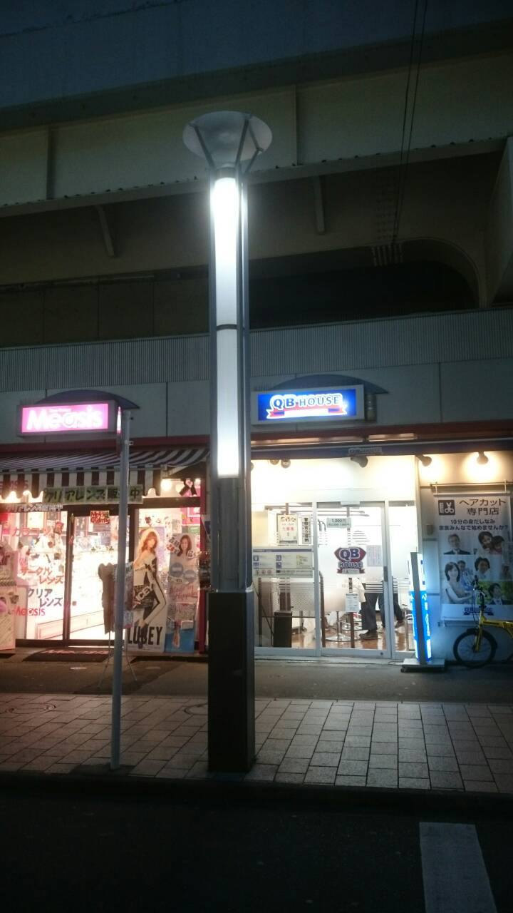 東京都杉並区の街路灯の塗装の施工事例の施工後