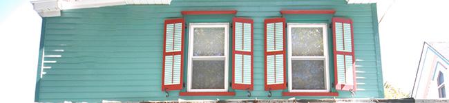 色彩学から考えた外壁塗装の色選び、赤