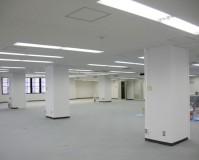 東京都中央区のビルの内装塗装工事