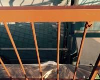 東京都荒川区の階段・手摺塗装工事の施工事例