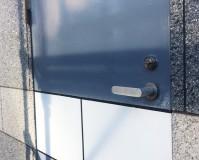 東京都江東区のビル鉄部(ドア)塗装工事の施工事例