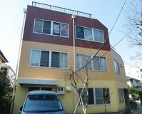 東京都調布市の外壁塗装・防水工事の施工事例