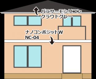 埼玉県草加市の外壁塗装・屋根塗装工事の施工事例(20150030)