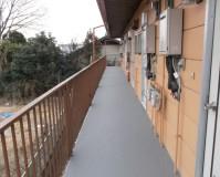 埼玉県熊谷市のマンション共用廊下改修工事の施工事例