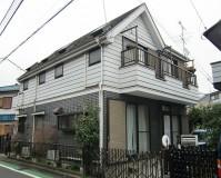 東京都世田谷の外壁塗装工事の施工事例